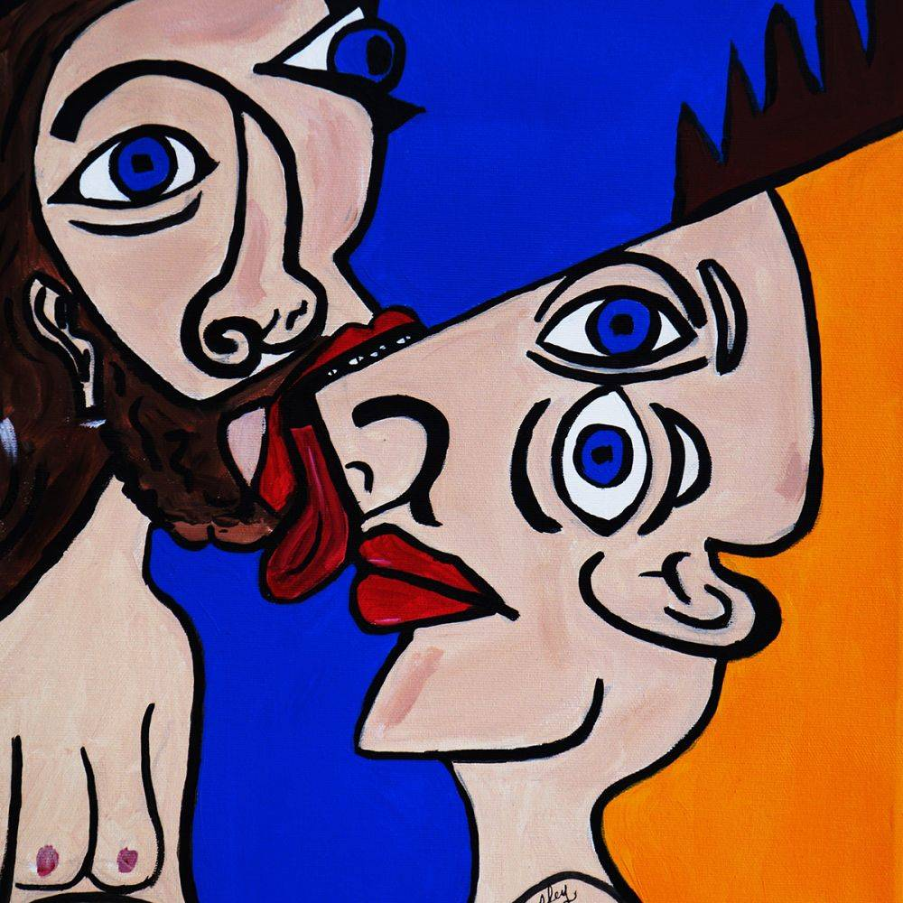 Nora Shepley, Picasso by Nora, Give Me a Little Kiss