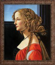 Portrait of Simonetta Vespucci Pre-Framed