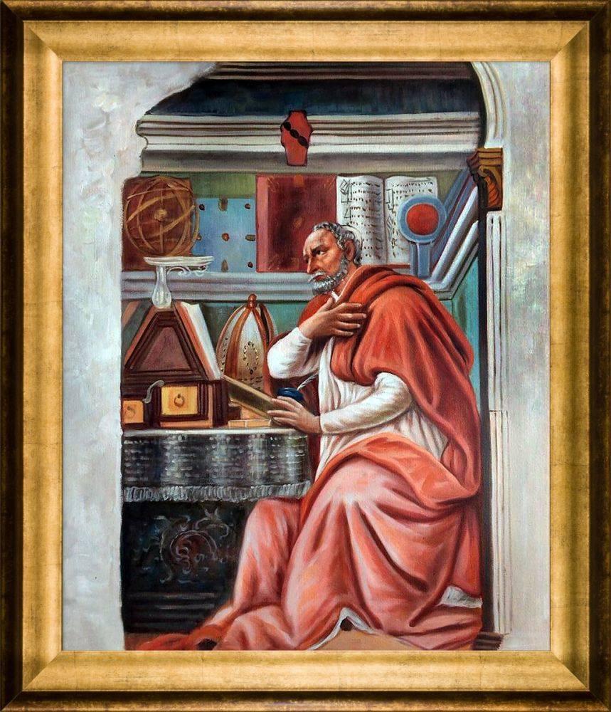 St. Augustine Pre-Framed