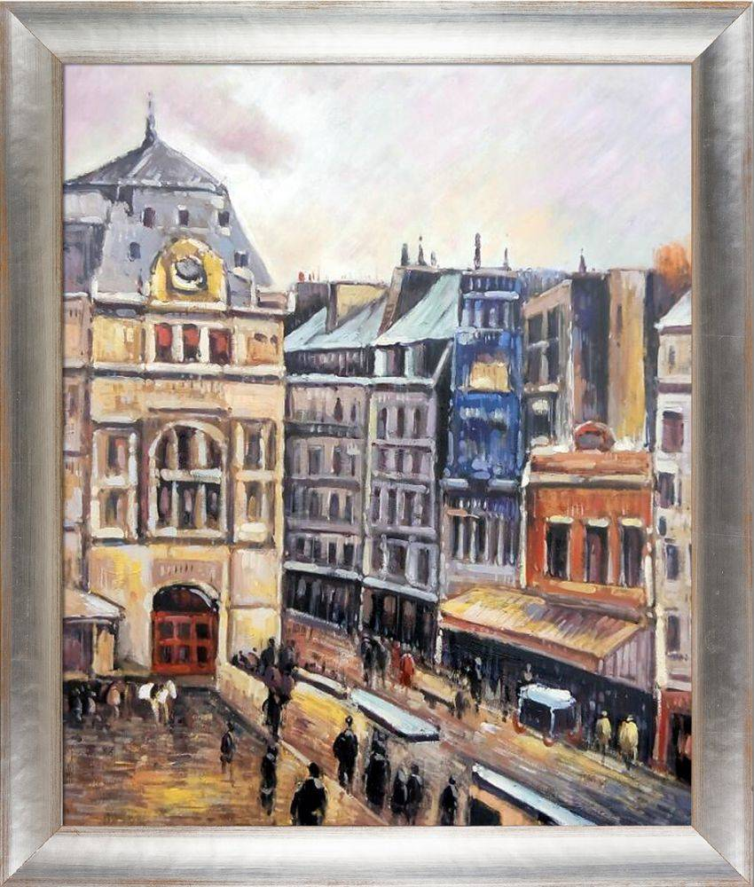 View of Paris, Rue d-Amsterdam Pre-Framed