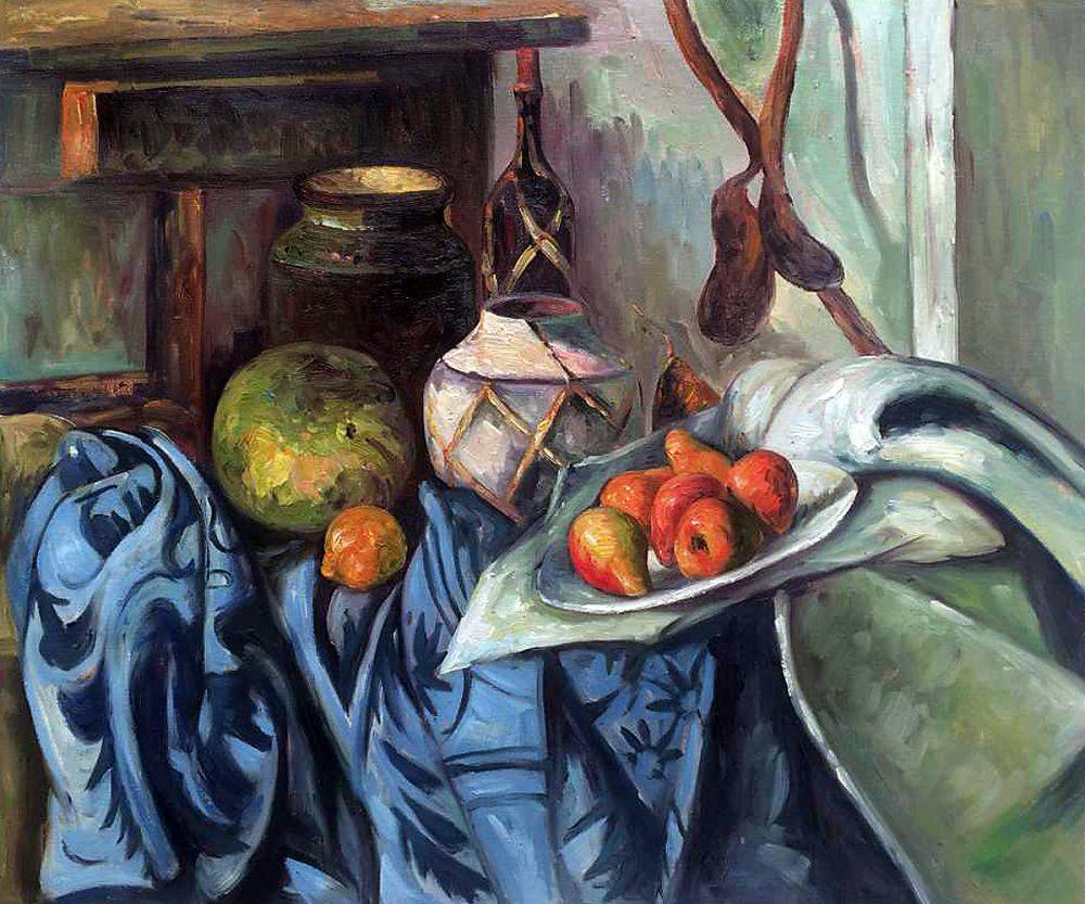 Still Life with Ginger Jar and Eggplants