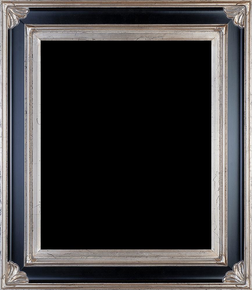"""Corinthian Aged Silver Frame 20""""X24"""""""