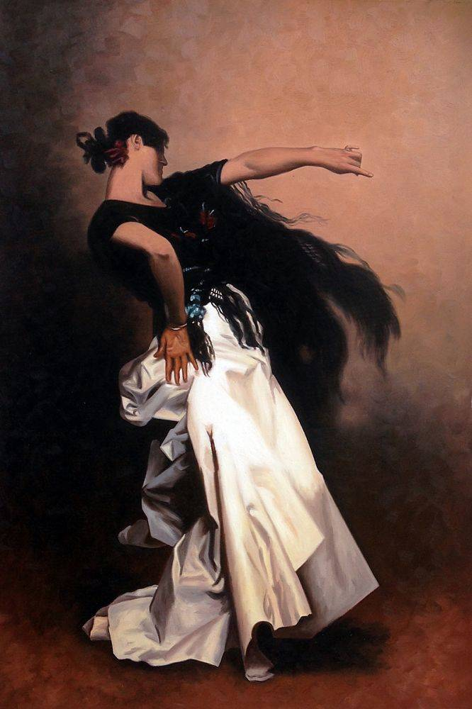 Study for Spanish Dancer, 1879-1882