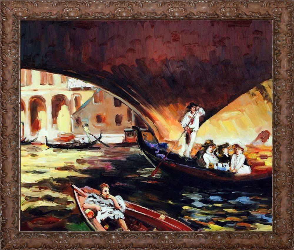 The Rialto, Venice Pre-Framed