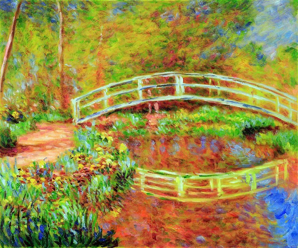 The Japanese Bridge (The Bridge in Monet's Garden - ye