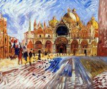 The Piazza San Marco Venice, 1881