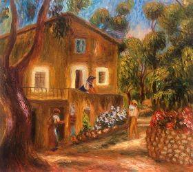 House in Collett at Cagnes, 1912