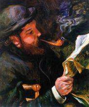 Claude Monet Reading,1872