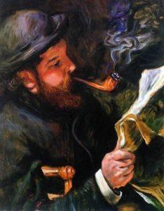 Claude Monet Reading,1872