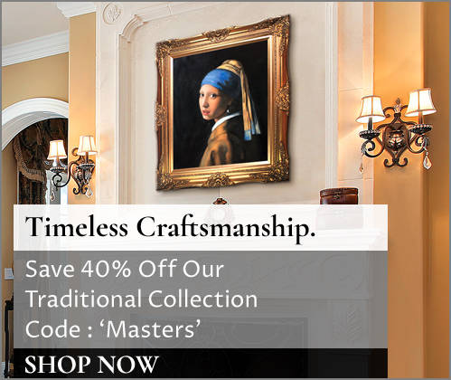 Save 40% on Classic Traditional Artwork